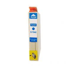 TOPTONER UTÁNGYÁRTOTT EPSON T0442 CYAN (C@18 ml) KOMPATIBILIS TINTAPATRON C64, C66, C84, C86, CX3600, CX3650, CX4600, CX6400, CX6600