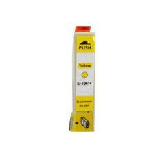 TOPTONER UTÁNGYÁRTOTT EPSON T0614 YELLOW (Y@13 ml) KOMPATIBILIS TINTAPATRON DX4200, DX4850, DX4800, DX3800, DX3850, DX4250, DX5850, D68, D88