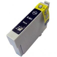 TOPTONER UTÁNGYÁRTOTT EPSON T0801 BLACK (BK@19 ml) KOMPATIBILIS TINTAPATRON R265, R360, R285, RX560, RX585, RX685, P50, PX650, PX700, PX710, PX800, PX810