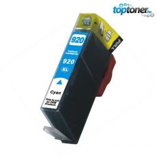 TOPTONER UTÁNGYÁRTOTT HP 920XL (CD972A) CYAN CHIPES (C@15 ML) KOMPATIBILIS TINTAPATRON Officejet 6000, 6500, 7000