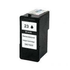 TOPTONER UTÁNGYÁRTOTT LEXMARK 23 BLACK (18C1523 ) (BK@21 ML) KOMPATIBILIS TINTAPATRON X3530, X3550, X4530, X4550, X5070, X5370, Z1410, Z1420