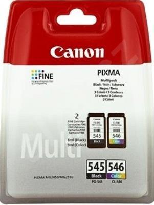 Canon PG545 (PG-545)+ CL546 (CL-546) eredeti tintapatron MULTIPACK MX495, iP2850, MG2450, MG2550, MG2950, MG3050