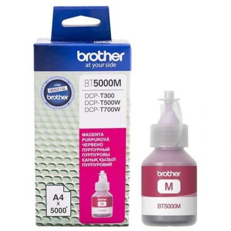 Brother BT5000M Magenta tinta DCP-T300, T500W, T700W, MFC-T800W
