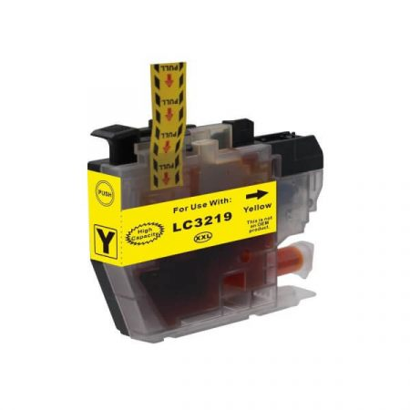 HQ Premium Compatible Brother LC3217 LC3219 YELLOW Ink Cartridge with CHIP J5330DW, J5335DW, J5730DW, J5930DW, J6530DW, J6930DW, J6935DW