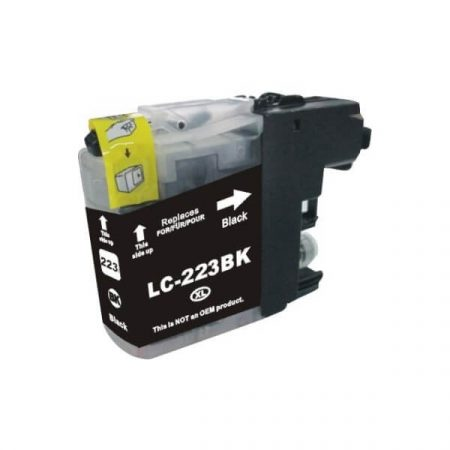 HQ Premium Compatible Brother LC223XL BLACK Ink Cartridge J4120DW, J4420DW, J4620DW, J4625DW, J5320DW, J5620DW, J5625DW, J5720DW
