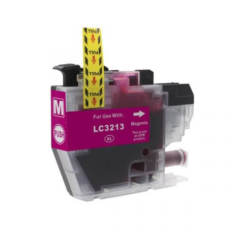 HQ Premium Compatible Brother LC3213 LC3211 MAGENTA Ink Cartridge with CHIP DCP-J772DW, DCP-J774DW, MFC-J890DW, MFC-J895DW