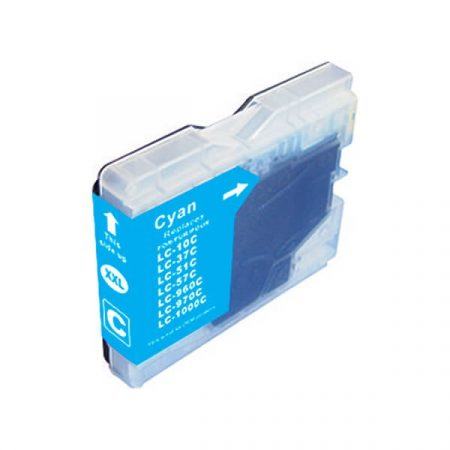 HQ Premium Compatible Brother LC1000 LC970 CYAN Ink Cartridge DCP135, DCP150, MFC235, MFC260, DCP330, DCP350, MFC680, MFC845