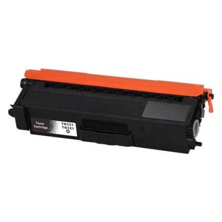 HQ Premium Compatible Brother TN321 TN331 BLACK Toner L8400, L8450, L8250, L8350, L8600, L8850, L9550