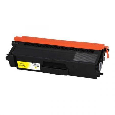 HQ Premium Compatible Brother TN321 TN331 YELLOW Toner L8400, L8450, L8250, L8350, L8600, L8850, L9550