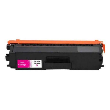 HQ Premium Compatible Brother TN326 TN336 MAGENTA Toner L8400, L8450, L8250, L8350, L8600, L8850