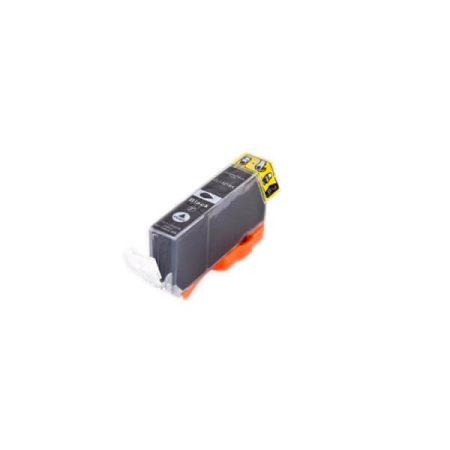 TOPTONER UTÁNGYÁRTOTT CANON CLI521 (CLI-521) BLACK (BK@11 ml) KOMPATIBILIS CHIPES TINTAPATRON MP540, MP620, MP630, MP980, iP3600, iP4600, iP4700, MP550, MP560, MP620, MP630, MP640, MP980, MX860