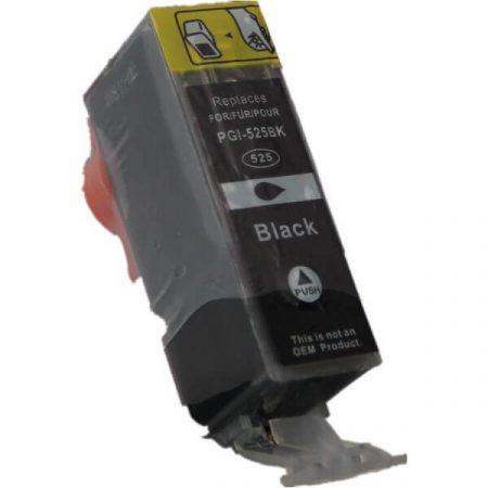 HQ PREMIUM CANON PGI525 (PGI-525) BLACK (BK@21 ml) CHIPES UTÁNGYÁRTOTT TINTAPATRON iP4800, iP4850, iP4900, iP4950, iX6550, MG5150, MG5250, MG5350, MG6150, MG6250, MG8150, MG8250, MX885