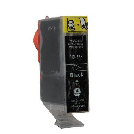 HQ PREMIUM CANON PGI5 (PGI-5) BLACK (BK@28 ml) CHIPES UTÁNGYÁRTOTT TINTAPATRON iP3500, iP4200, iP4300, iP4500, iP5200, iP5300, iP6600, iP6700, iX5000, MP500, MP510, MP600, MP800, MX700
