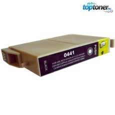 TOPTONER UTÁNGYÁRTOTT EPSON T0441 BLACK (BK@20 ml) KOMPATIBILIS TINTAPATRON C64, C66, C84, C86, CX3600, CX3650, CX4600, CX6400, CX6600