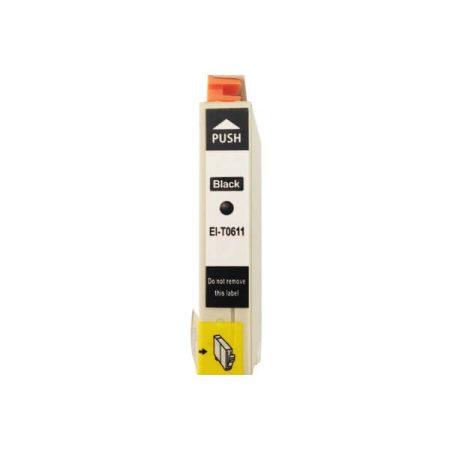 TOPTONER UTÁNGYÁRTOTT EPSON T0611 BLACK (BK@14 ml) KOMPATIBILIS TINTAPATRON DX4200, DX4850, DX4800, DX3800, DX3850, DX4250, DX5850, D68, D88