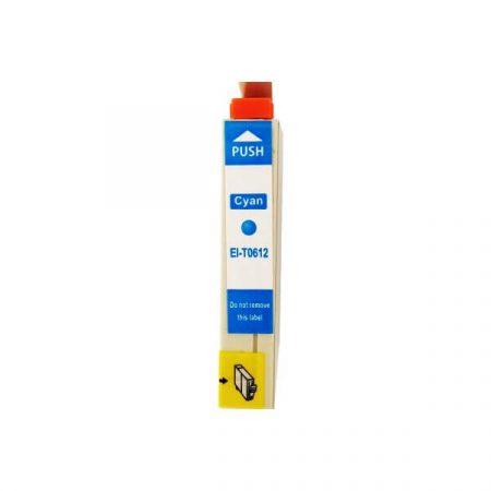 TOPTONER UTÁNGYÁRTOTT EPSON T0612 CYAN (C@14 ml) KOMPATIBILIS TINTAPATRON DX4200, DX4850, DX4800, DX3800, DX3850, DX4250, DX5850, D68, D88