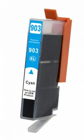 TOPTONER UTÁNGYÁRTOTT HP 903XL CYAN (T6M03AE) CHIPES (C@13,5 ML) KOMPATIBILIS TINTAPATRON HP OfficeJet 6950, 6860, 6970