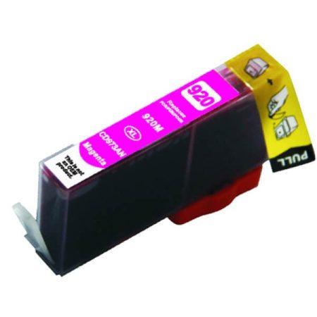 TOPTONER UTÁNGYÁRTOTT HP 920XL (CD973A) MAGENTA CHIPES (M@15 ML) KOMPATIBILIS TINTAPATRON Officejet 6000, 6500, 7000