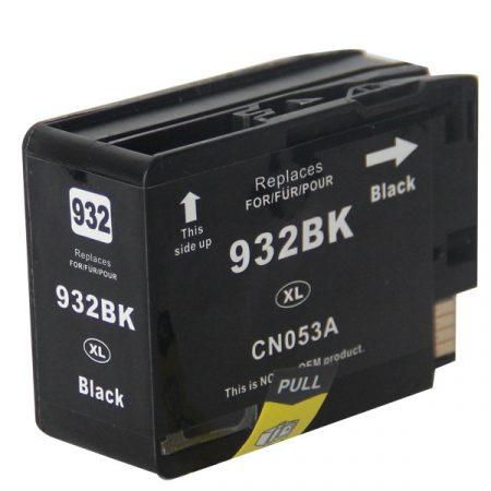 TOPTONER UTÁNGYÁRTOTT HP 932XL (CN053) BLACK CHIPES (BK@32 ML) KOMPATIBILIS TINTAPATRON Officejet 6100, 6600, 6700, 7110, 7610