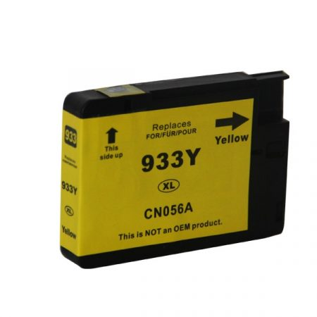 TOPTONER UTÁNGYÁRTOTT HP 933XL (CN055) YELLOW CHIPES (Y@16 ML) KOMPATIBILIS TINTAPATRON Officejet 6100, 6600, 6700, 7110, 7610