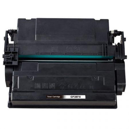 TOPTONER UTÁNGYÁRTOTT HP CF287X (BK@18.000 oldal) KOMPATIBILIS TONER M506, M527