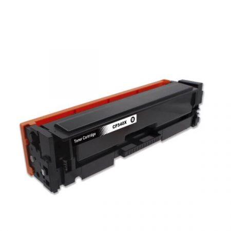 HQ PREMIUM HP CF540X 540X (203X) BLACK (BK@3.200 oldal) CHIPES UTÁNGYÁRTOTT TONER M254, M280, M281