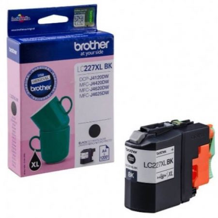 BROTHER LC227XL BLACK EREDETI TINTAPATRON DCP-J4120DW, MFC-J4420DW, J4425DW, J4620DW, J4625DW, J5320DW, J5620DW, J5625DW, J5720DW