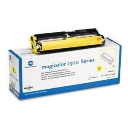 Konica Minolta MC2300 Yellow Eredeti toner AKCIÓS