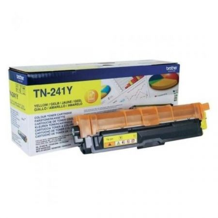 BROTHER TN241 YELLOW EREDETI TONER HL3140CW, HL3150CDW, HL3170CDW, DCP9015, DCP9020CDN, MFC9140CDN, MFC9330CDW, MFC9340CDW